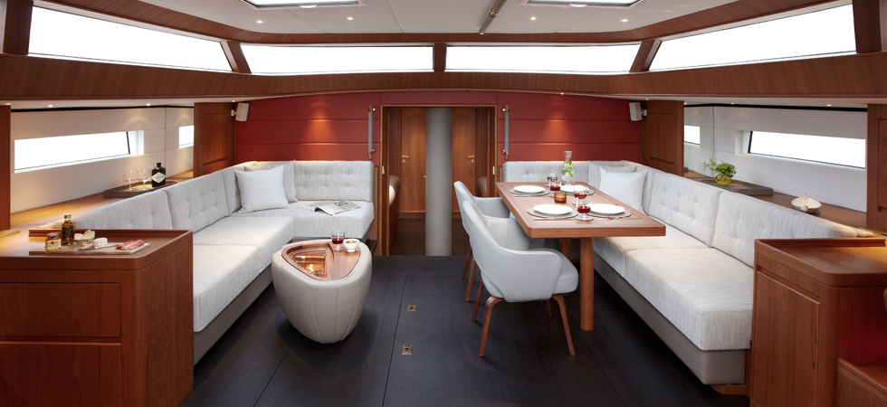 Contest yachts interior